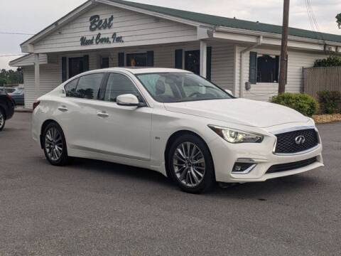 2018 Infiniti Q50 for sale at Best Used Cars Inc in Mount Olive NC