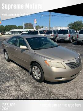 2007 Toyota Camry for sale at Supreme Motors in Tavares FL