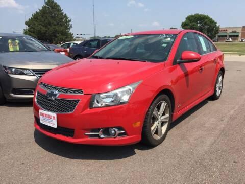 2013 Chevrolet Cruze for sale at De Anda Auto Sales in South Sioux City NE