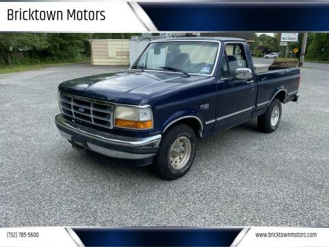 1995 Ford F-150 for sale at Bricktown Motors in Brick NJ