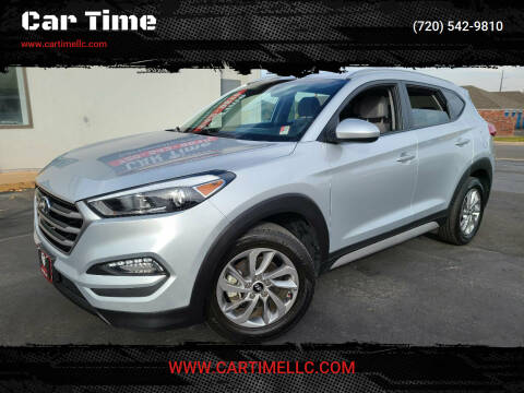 2018 Hyundai Tucson for sale at Car Time in Denver CO
