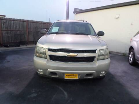 2007 Chevrolet Avalanche for sale at Metroplex Motors Inc. in Houston TX