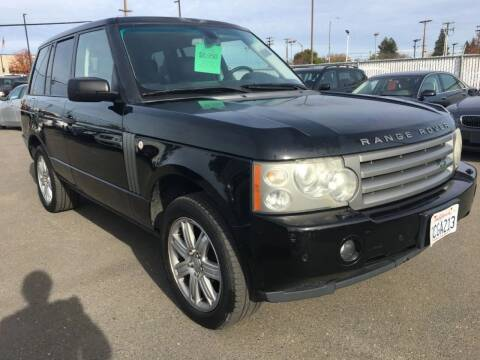 2007 Land Rover Range Rover for sale at Dealer Finance Auto Center LLC in Sacramento CA