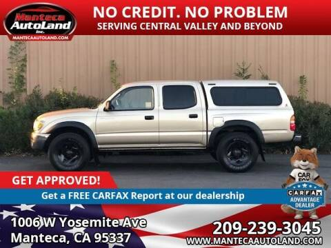 2003 Toyota Tacoma for sale at Manteca Auto Land in Manteca CA
