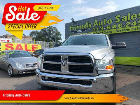 2012 RAM Ram Pickup 2500 for sale at Friendly Auto Sales in Detroit MI