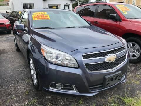 2013 Chevrolet Malibu for sale at Jeff Auto Sales INC in Chicago IL