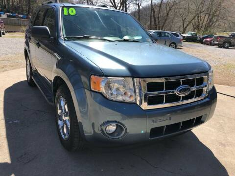 2010 Ford Escape for sale at Day Family Auto Sales in Wooton KY