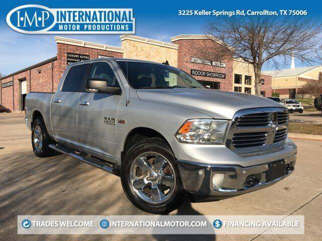 2016 RAM Ram Pickup 1500 for sale at International Motor Productions in Carrollton TX