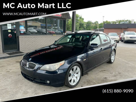 2007 BMW 5 Series for sale at MC Auto Mart LLC in Hermitage TN
