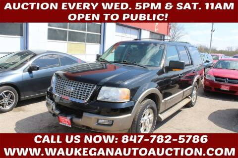 2003 Ford Expedition for sale at Waukegan Auto Auction in Waukegan IL