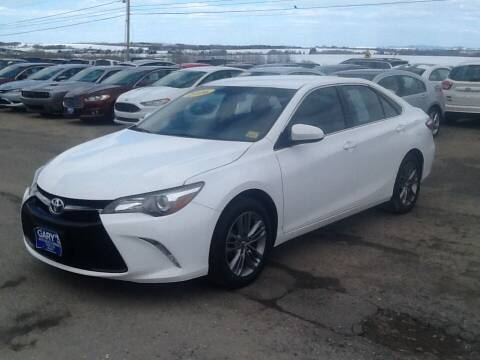 2016 Toyota Camry for sale at Garys Sales & SVC in Caribou ME