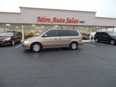 2003 Honda Odyssey for sale at Mira Auto Sales in Dayton OH