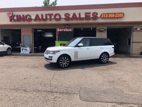 2015 Land Rover Range Rover for sale at KING AUTO SALES  II in Detroit MI