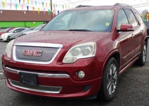 2011 GMC Acadia for sale at L&M Auto Import in Gastonia NC