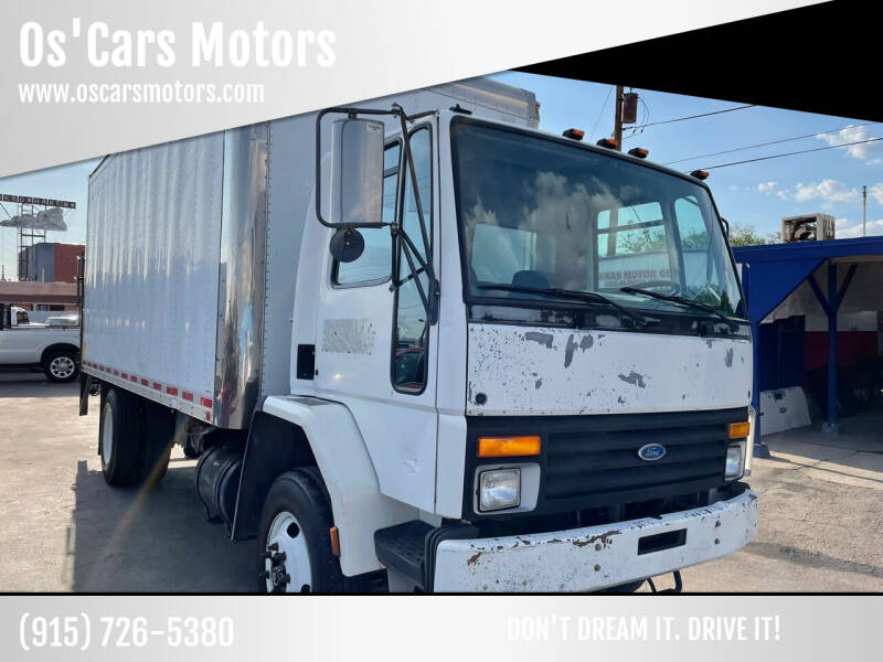 1995 Ford CF7000 for sale at Os'Cars Motors in El Paso TX