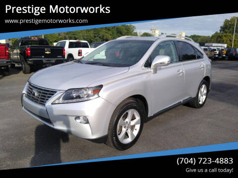 2015 Lexus RX 350 for sale at Prestige Motorworks in Concord NC