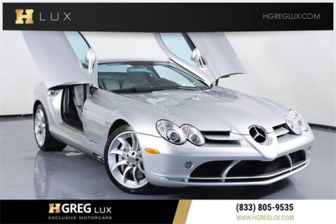 2006 Mercedes-Benz SLR for sale at HGREG LUX EXCLUSIVE MOTORCARS in Pompano Beach FL