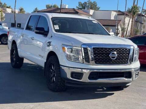 2017 Nissan Titan for sale at Brown & Brown Wholesale in Mesa AZ