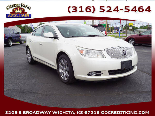 2011 Buick LaCrosse for sale at Credit King Auto Sales in Wichita KS