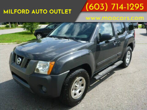 2008 Nissan Xterra for sale at Milford Auto Outlet in Milford NH
