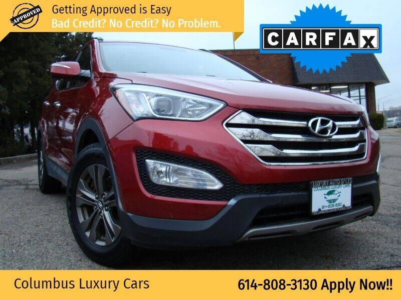 2013 Hyundai Santa Fe Sport for sale at Columbus Luxury Cars in Columbus OH
