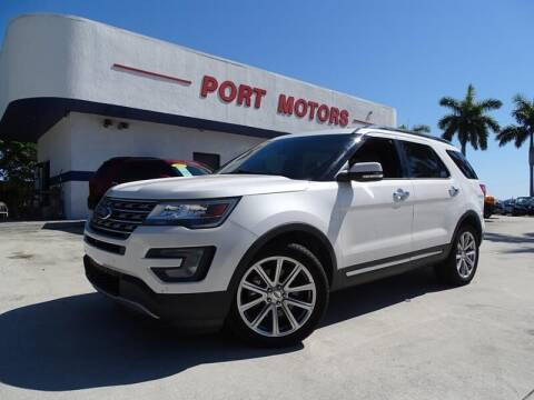 2016 Ford Explorer for sale at Port Motors in West Palm Beach FL
