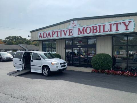 2008 Chevrolet Uplander for sale at Adaptive Mobility Wheelchair Vans in Seekonk MA