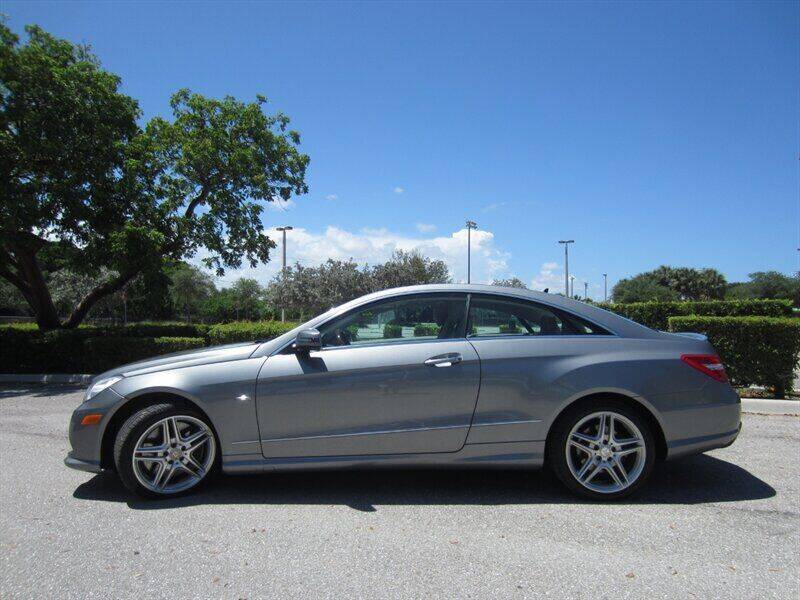 2012 Mercedes-Benz E-Class for sale at Auto Sport Group in Delray Beach FL