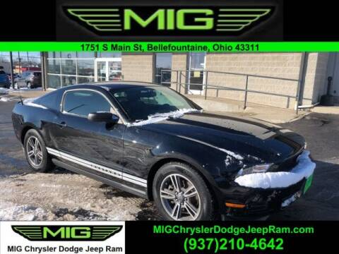 2012 Ford Mustang for sale at MIG Chrysler Dodge Jeep Ram in Bellefontaine OH