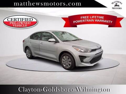 2021 Kia Rio for sale at Auto Finance of Raleigh in Raleigh NC