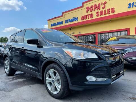 2014 Ford Escape for sale at Popas Auto Sales in Detroit MI
