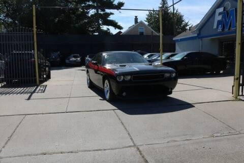 2014 Dodge Challenger for sale at F & M AUTO SALES in Detroit MI