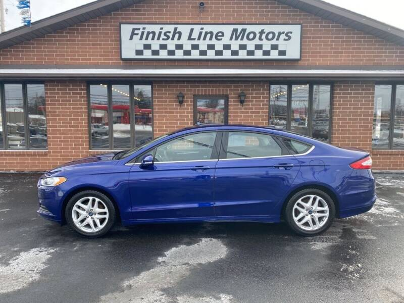 2015 Ford Fusion for sale at FINISHLINE MOTORS in Canton OH