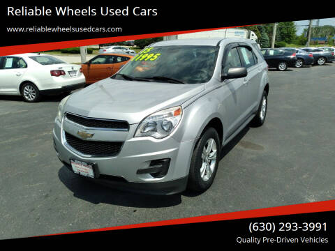 2015 Chevrolet Equinox for sale at Reliable Wheels Used Cars in West Chicago IL