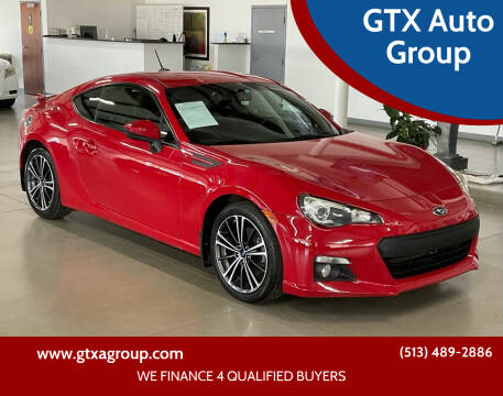 2013 Subaru BRZ for sale at GTX Auto Group in West Chester OH