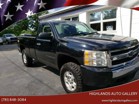 2008 Chevrolet Silverado 1500 for sale at Highlands Auto Gallery in Braintree MA
