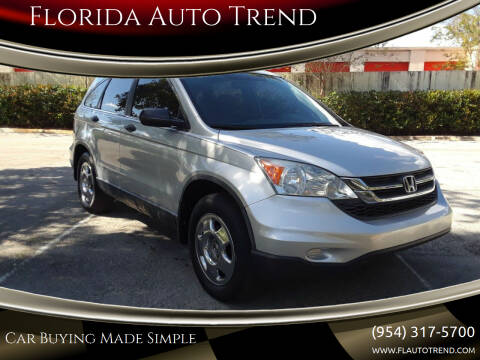 2011 Honda CR-V for sale at Florida Auto Trend in Plantation FL