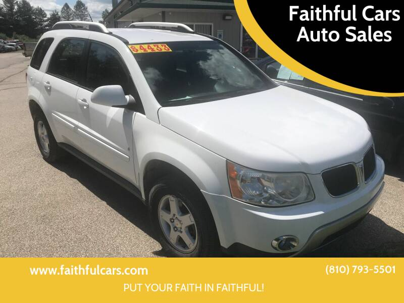 2008 Pontiac Torrent for sale at Faithful Cars Auto Sales in North Branch MI