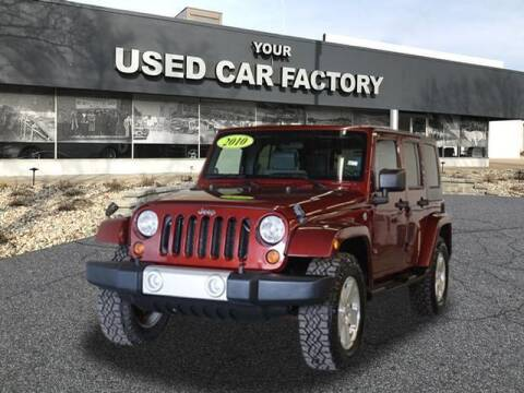 2010 Jeep Wrangler Unlimited for sale at JOELSCARZ.COM in Flushing MI