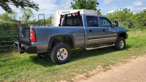 2006 Chevrolet C/K 2500 Series for sale at CLASSIC MOTOR SPORTS in Winters TX