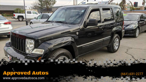 2012 Jeep Liberty for sale at Approved Autos in Bakersfield CA