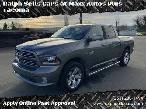 2013 RAM Ram Pickup 1500 for sale at Ralph Sells Cars at Maxx Autos Plus Tacoma in Tacoma WA