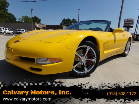 2004 Chevrolet Corvette for sale at Calvary Motors, Inc. in Bixby OK