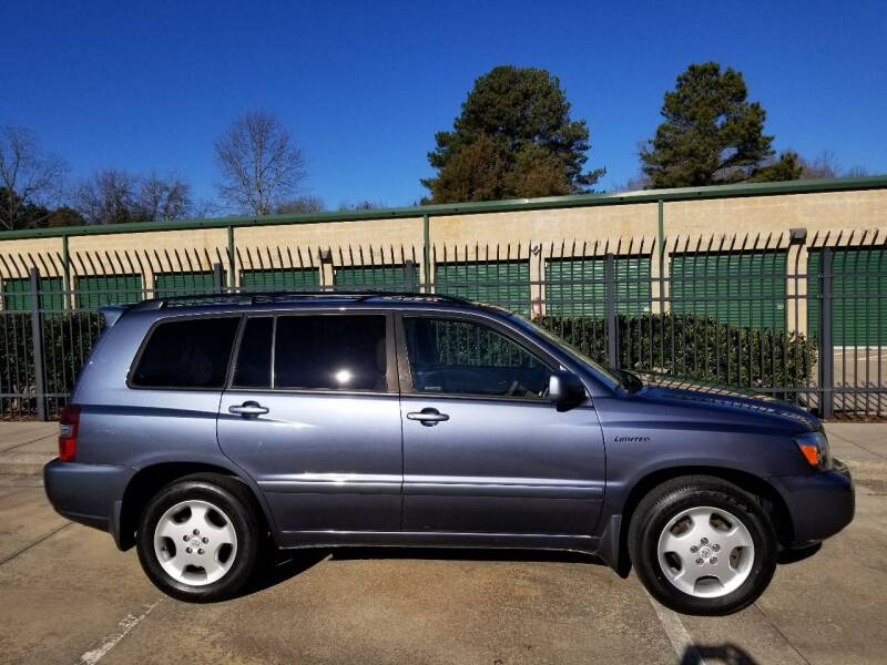 2006 Toyota Highlander for sale at Hollingsworth Auto Sales in Wake Forest NC
