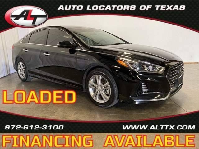 2018 Hyundai Sonata for sale at AUTO LOCATORS OF TEXAS in Plano TX