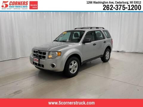 2011 Ford Escape for sale at 5 Corners Isuzu Truck & Auto in Cedarburg WI