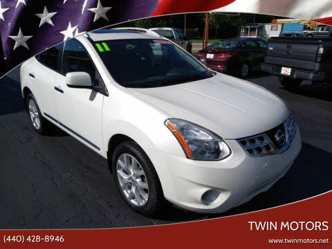 2011 Nissan Rogue for sale at TWIN MOTORS in Madison OH