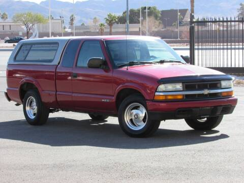 2002 Chevrolet S-10 for sale at Best Auto Buy in Las Vegas NV