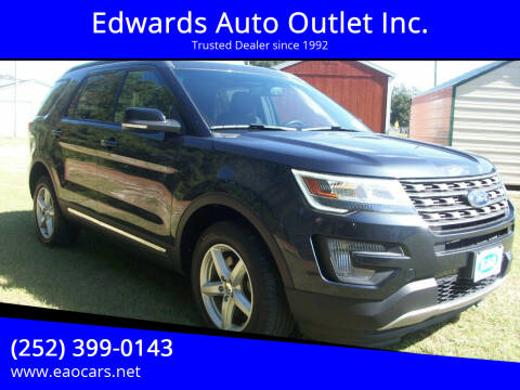 2017 Ford Explorer for sale at Edwards Auto Outlet Inc. in Wilson NC