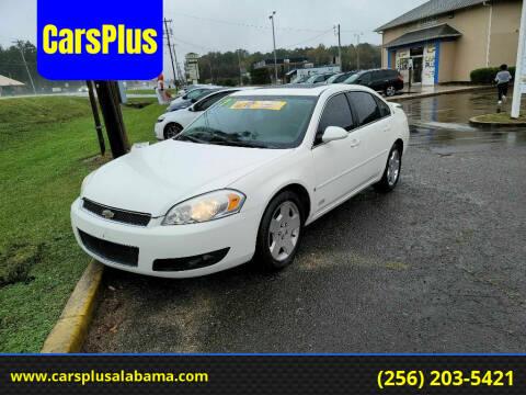2007 Chevrolet Impala for sale at CarsPlus in Scottsboro AL